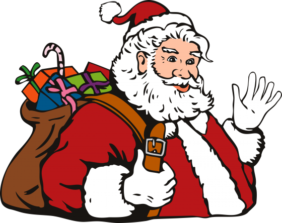 The story of Santa Claus – the giver of joy !!