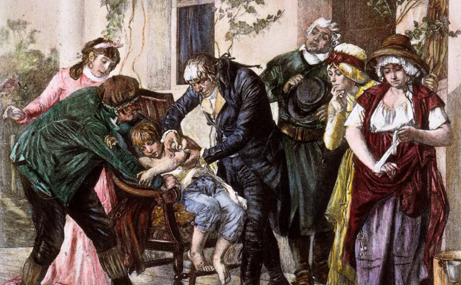 Edward Jenner- The discoverer of the first vaccine